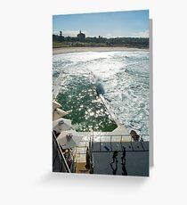 Bondi Beach icebergs Boxercise  Greeting Card