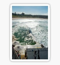 Bondi Beach icebergs Boxercise  Sticker