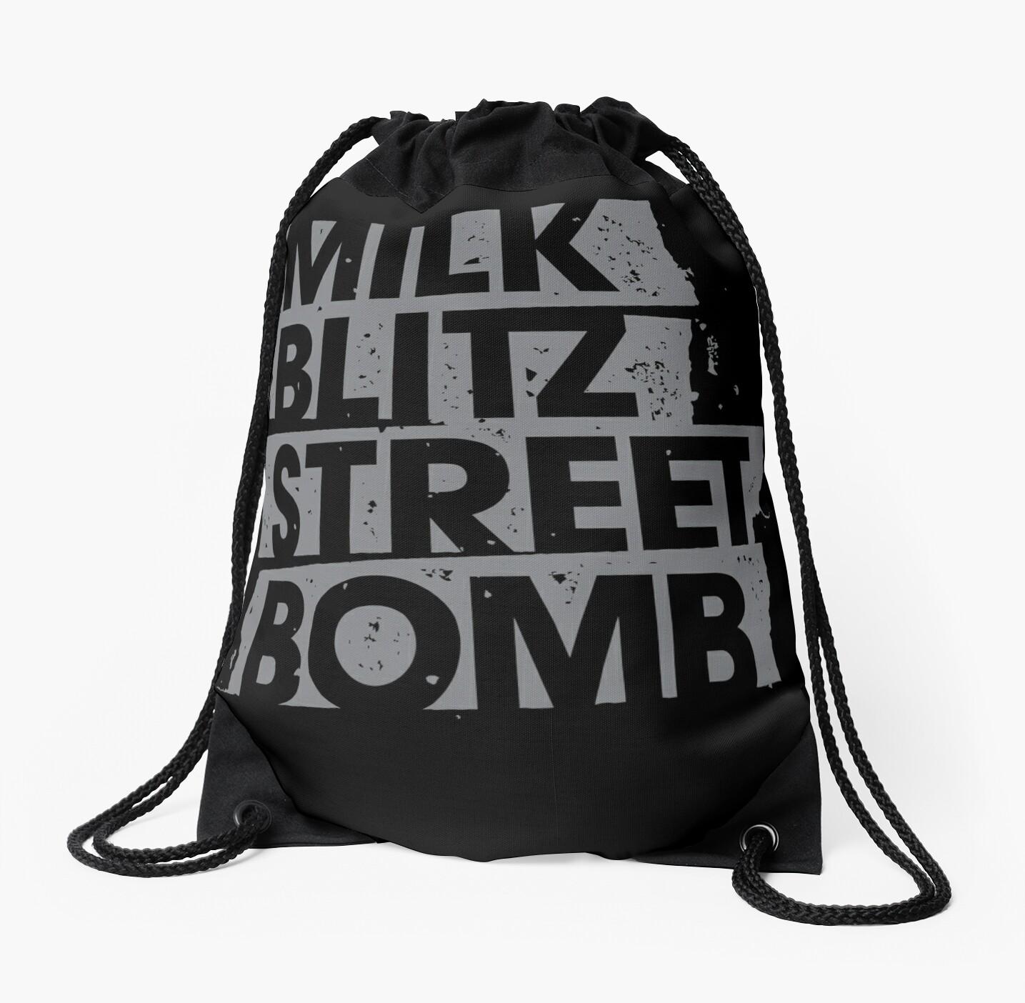 Milk.Blitz.Street.Bomb. Eroded Logo by milkblitz