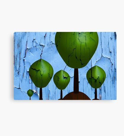 Urban Trees Canvas Print