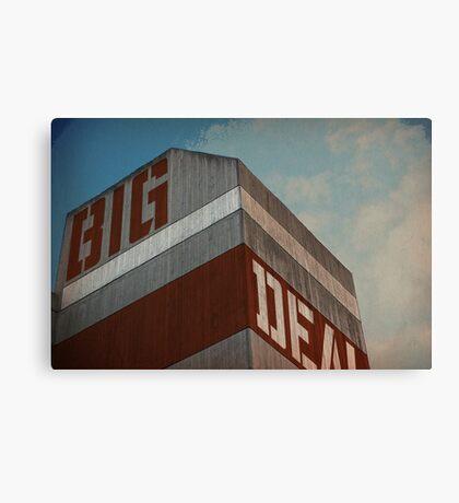 Big Brutal Deal Canvas Print