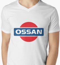 NISSAN parody - OSSAN LOGO Men's V-Neck T-Shirt