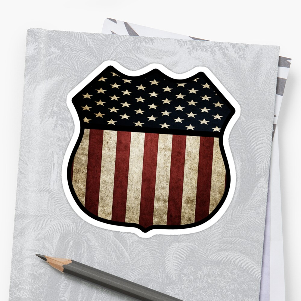 US Flag Shield by Stepz2007