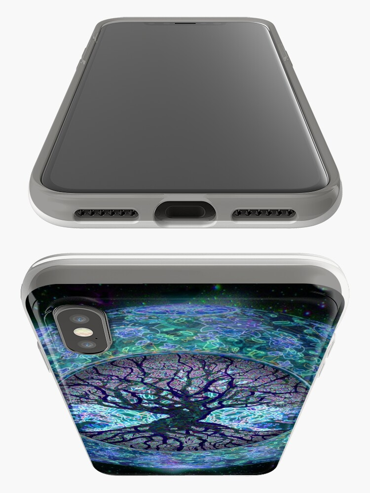 Alternate view of Planet Earth Circle of Life iPhone Case & Cover