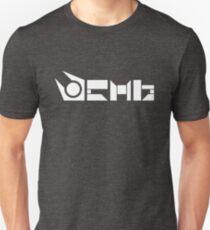 Kombiniere Symbol   Weiß Slim Fit T-Shirt