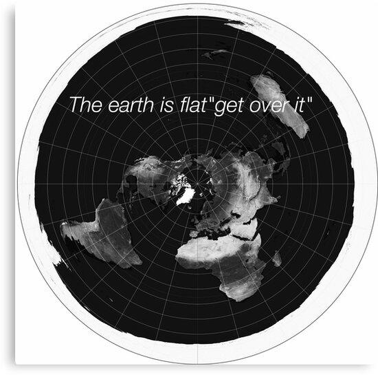 Flat earth by Delboydood