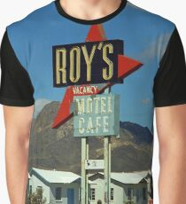 Route 66 - Roy's of Amboy, California Graphic T-Shirt