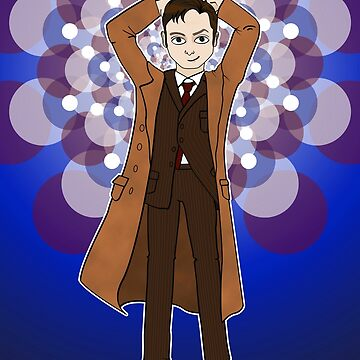 Tenth Doctor by ClassicFlower