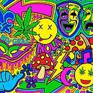 Karneval Collage von Corey Paige Designs