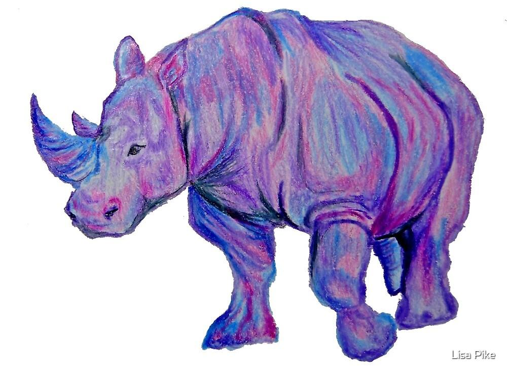 Rhino by Lisa Pike