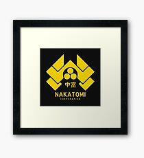 Nakatomi Corporation Framed Print