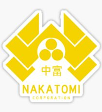 Nakatomi Corporation Sticker