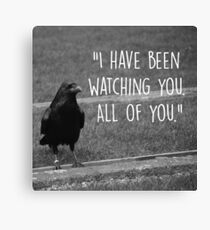 Three Eyed Raven Quote Canvas Print