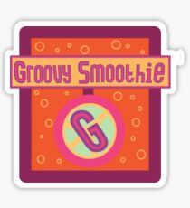 The Groovy Smoothie Sticker