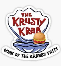 Krusty Krab Sticker