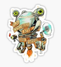 Codsworth - Two Centuries Late for Dinner Sticker