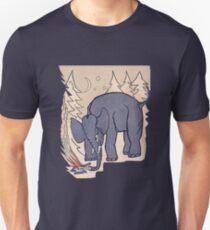 """Calvé-Delfts Winterboekje (Die Mikrofone, """"The Glow Pt. 2"""") Slim Fit T-Shirt"""