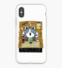 welcome to teh tem shop! iPhone Case