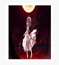 """Remilia Scarlet Blood Lake"" Photographic Print"