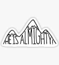 He is Almighty Sticker