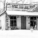 Rabbit Hash Iron Works B&W by mcstory