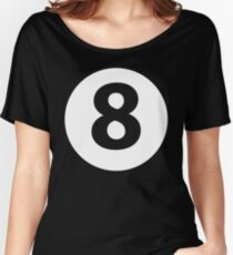 Monica's Magic EightBall Shirt Women's Relaxed Fit T-Shirt