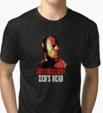 Zed is Dead - for dark shirts Tri-blend T-Shirt
