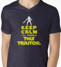 Keep Calm I'll handle this traitor T-Shirt