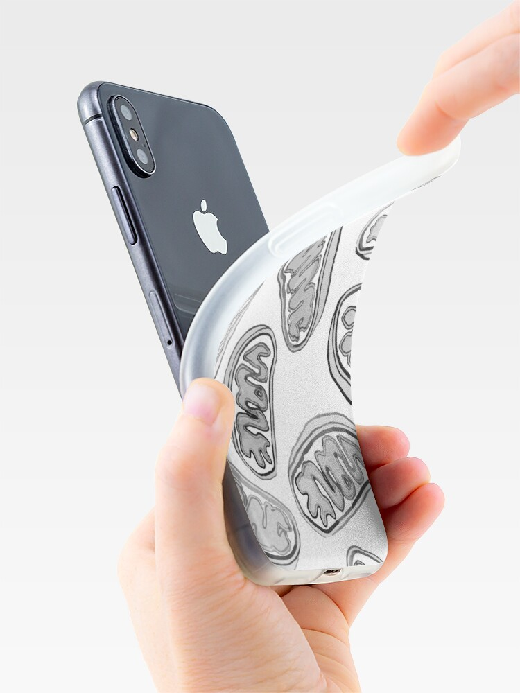 Alternate view of Mitochondria repeating pattern iPhone Case & Cover
