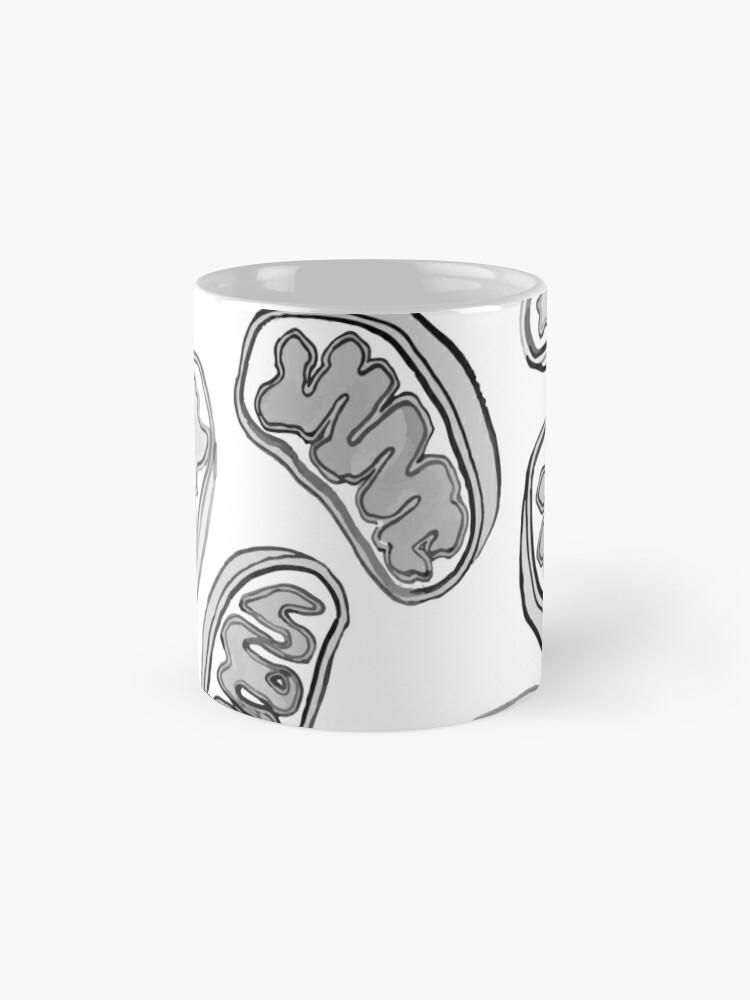 Alternate view of Mitochondria repeating pattern Mug