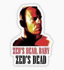 Zed Is Dead Sticker