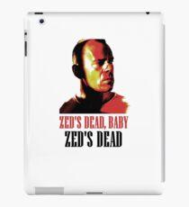 Zed Is Dead iPad Case/Skin