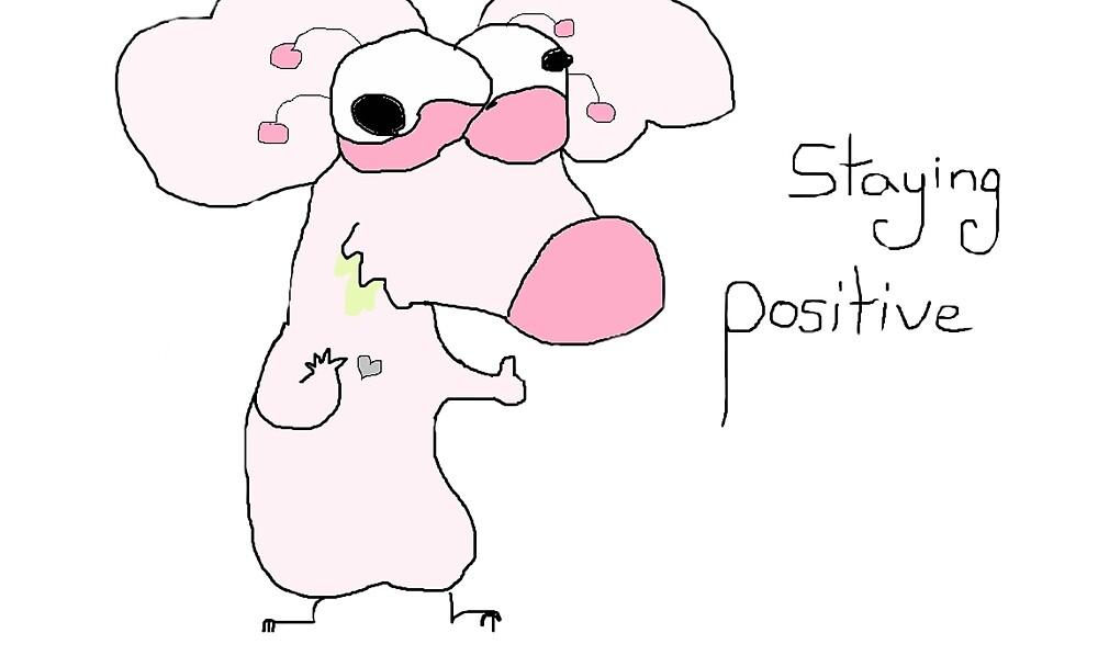 Staying Positive by AverageCyborg