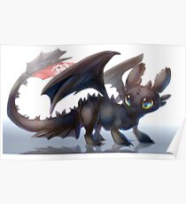 How to train your dragon - Toothless Poster