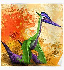 Quetzalcoatlus Poster