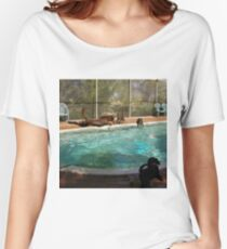 9dogalendar  high diver Women's Relaxed Fit T-Shirt