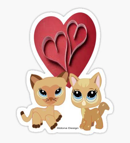 Cats ( 6914 Views) Sticker