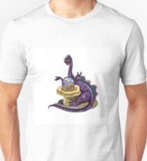 Illustration of a Plateosaurus fortune teller. Unisex T-Shirt
