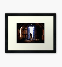 The Lion, The Witch, and The TARDIS Framed Print