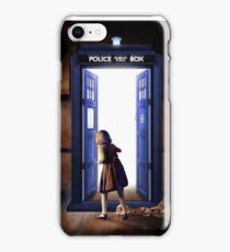 The Lion, The Witch, and The TARDIS iPhone Case/Skin