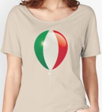Flag of Italy Women's Relaxed Fit T-Shirt