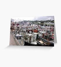 Traffic Jam - Greencastle Co. Donegal Ireland Greeting Card