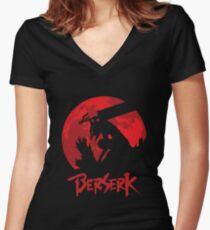 Gatz Berserk Armor Women's Fitted V-Neck T-Shirt