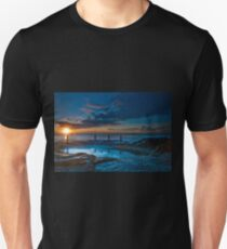 Sunrise over Rockpool, Coogee Unisex T-Shirt