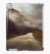 Foggy road iPad Case/Skin