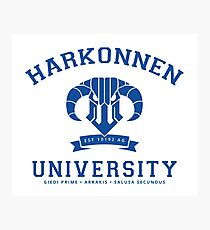 Harkonnen University | Blue Photographic Print
