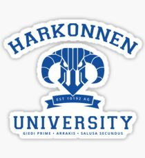 Harkonnen University | Blue Sticker