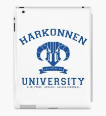 Harkonnen University   Blue iPad Case/Skin