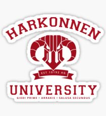 Harkonnen University | Red Sticker
