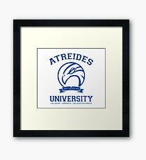 Atreides University | Blue Framed Print